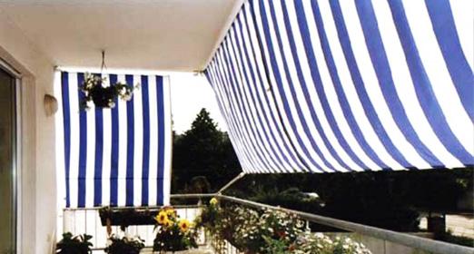 Sichtschutz Balkon Mit Sonnensegeln Balkonumrandung Sichtschutz