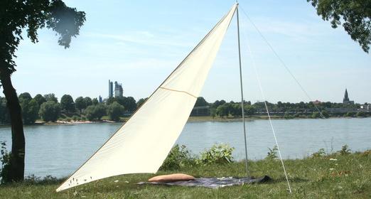 Sonnenschutz camping freizeit sonnensegel markise - Sonnensegel im garten ...